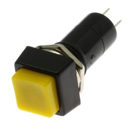 Pushbutton Switch Jietong PBS 12B YELLOW