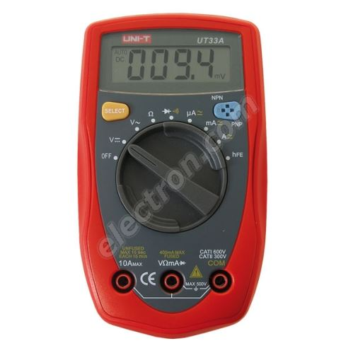 Digital multimeter UNI-T UT33A