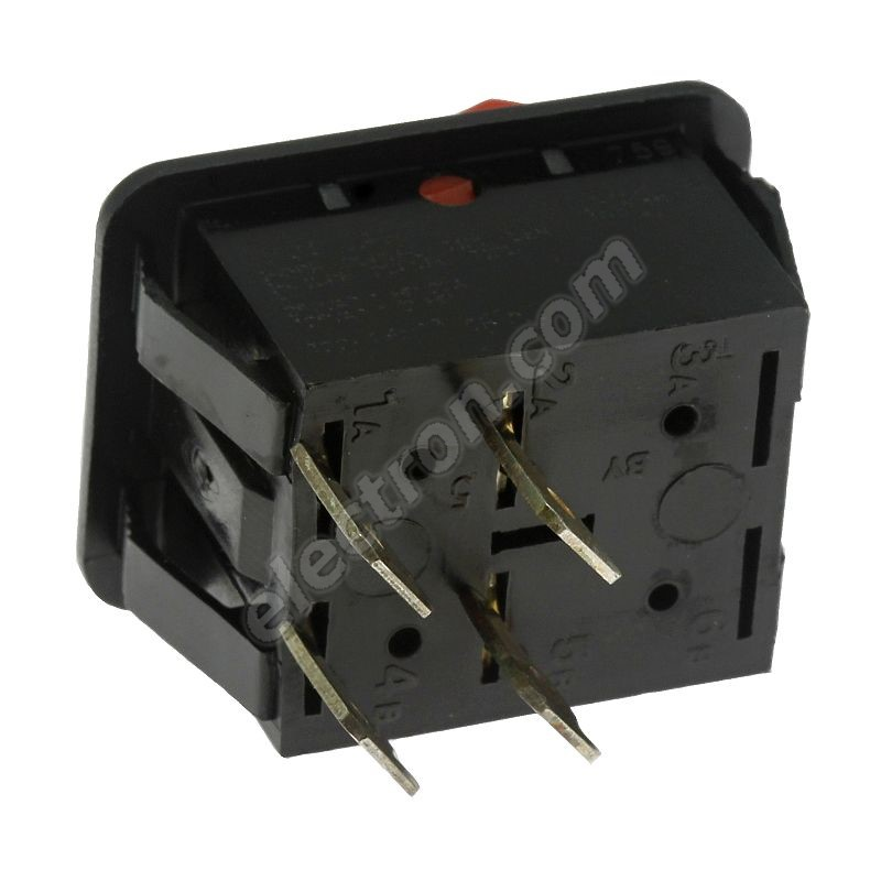Rocker Switch Arcolectric C1350ABAAU