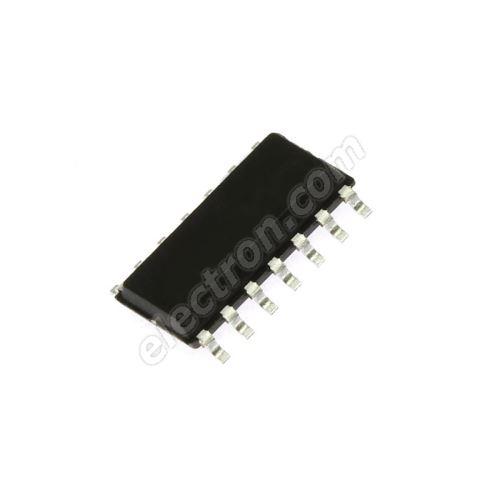 Quad 2 Input Schmitt NAND SO14 Texas Instruments SN74HC132D