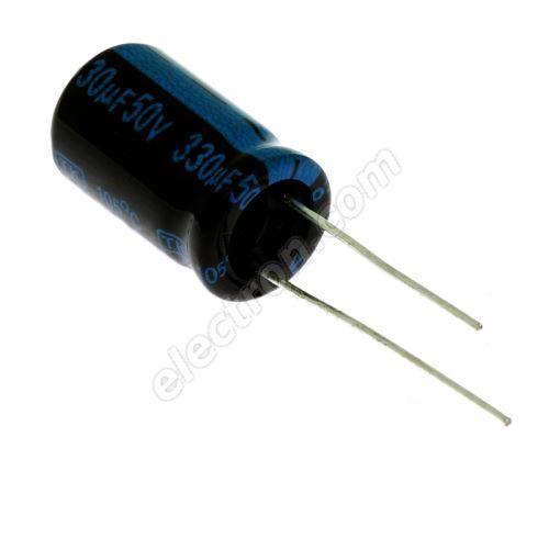 Electrolytic Radial E 330uF/50V 10x16 RM5 105°C Jamicon TKR331M1HG16M