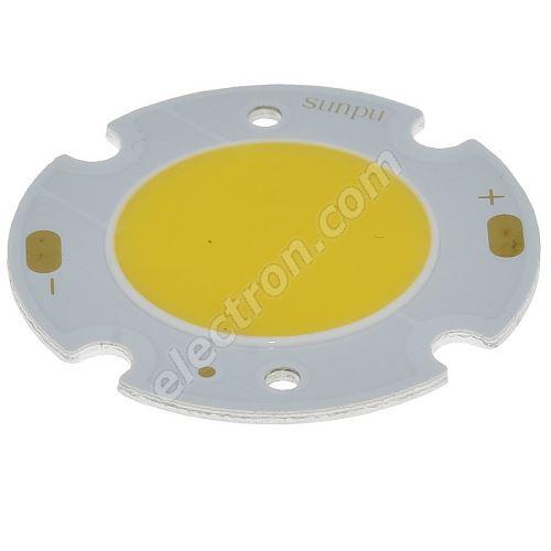 LED 10W COB Warm White Color 900lm/120° Hebei 10VAC30DW3
