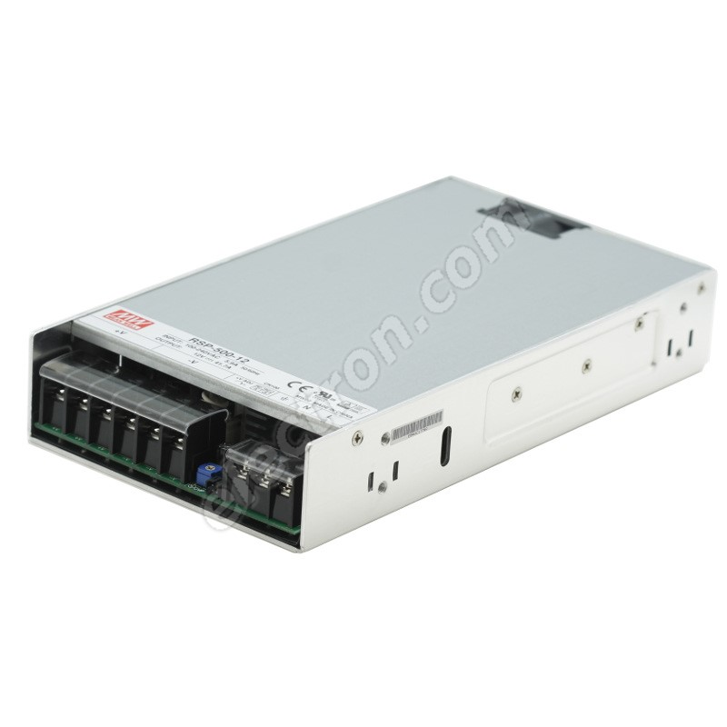 12V DC Switching Power Supply Mean Well RSP-500-12