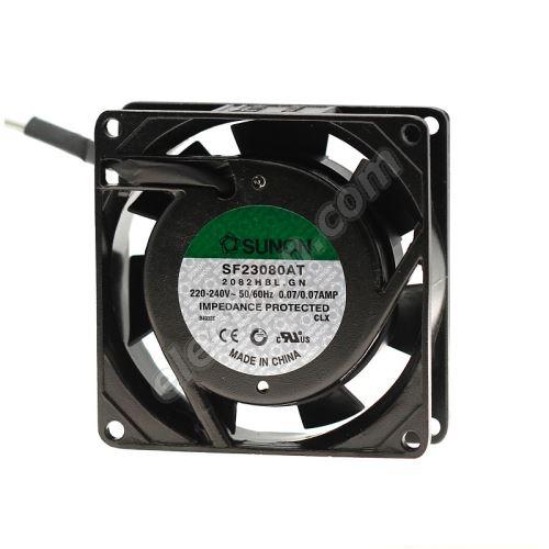 AC Fan 80x80x25mm 230V AC/70mA 30dB SUNON SF23080AT-2082HBL.GN