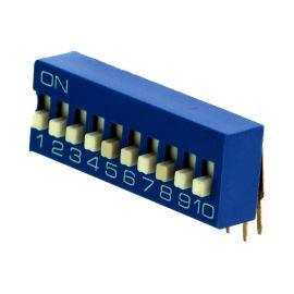 DIP switch Kaifeng KF1003-12PG-BLUE