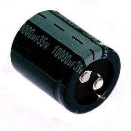 Electrolytic Capacitor Snap-in E 10000uF/63V 35x40 RM10 105°C Samxon HP 10000U/63V