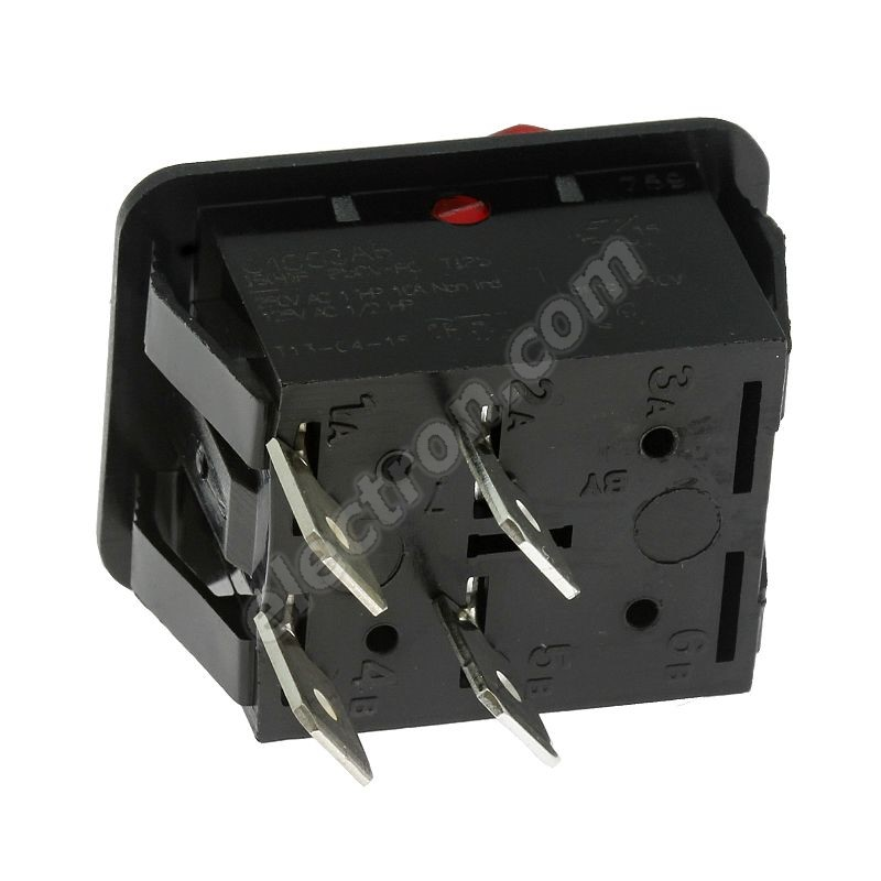 Rocker Switch Arcolectric C1553ABNAA