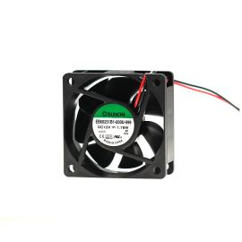 DC Fan 60x60x25mm 12V DC/148mA 34.5dB SUNON EB60251B1-000U-999