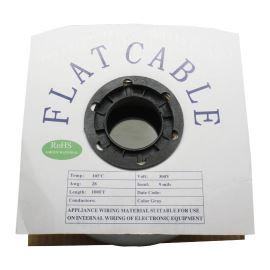 Flat ribbon cable AWG28 14 pin Grey Color