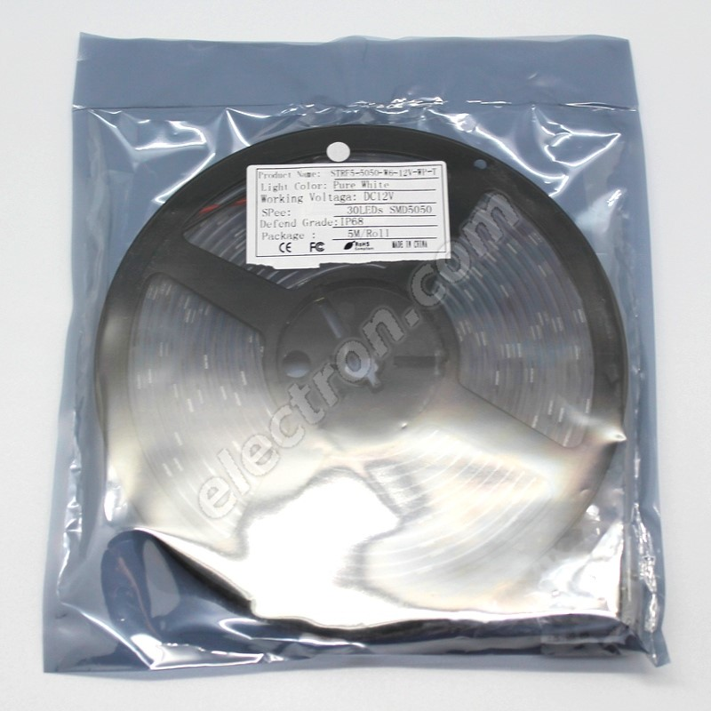 Waterproof LED Strip 5050 Cool White - STRF 5050-30-CW-IP66