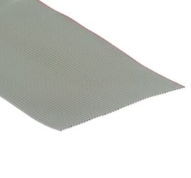 Flat ribbon cable AWG28 50 pin Grey Color