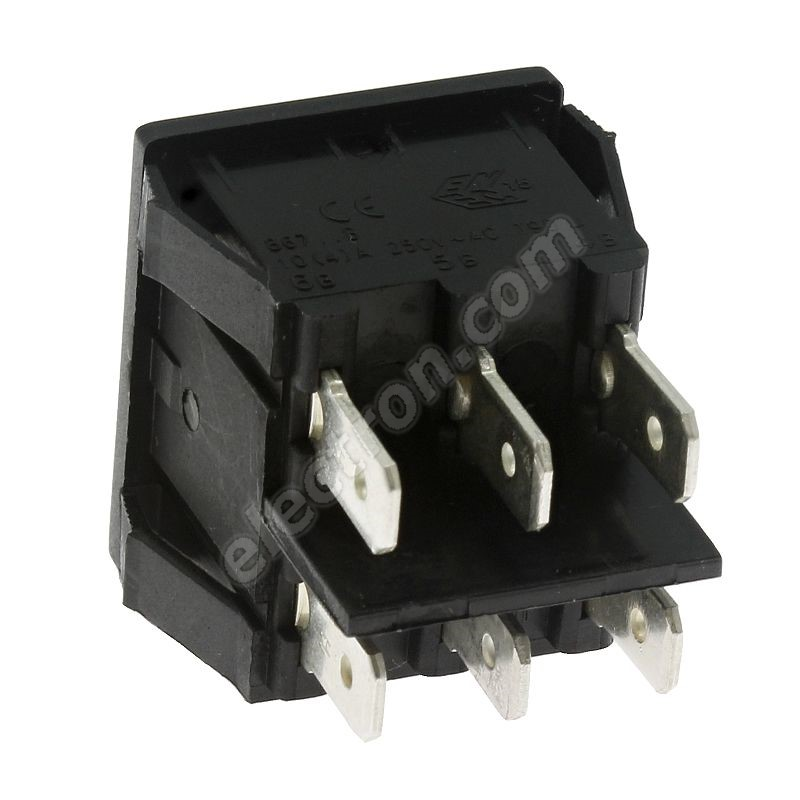 Rocker Switch Arcolectric H8670VBAAB