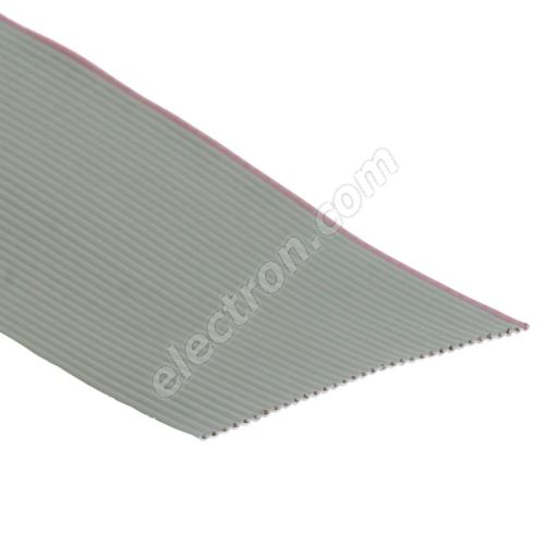 Flat ribbon cable AWG28 34 pin Grey Color