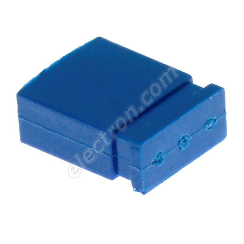 Blue JUMPER closed RM2.54mm Xinya 116-A-G 4