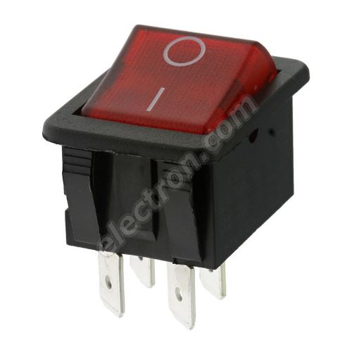 Rocker Switch Arcolectric C1353ABNAC