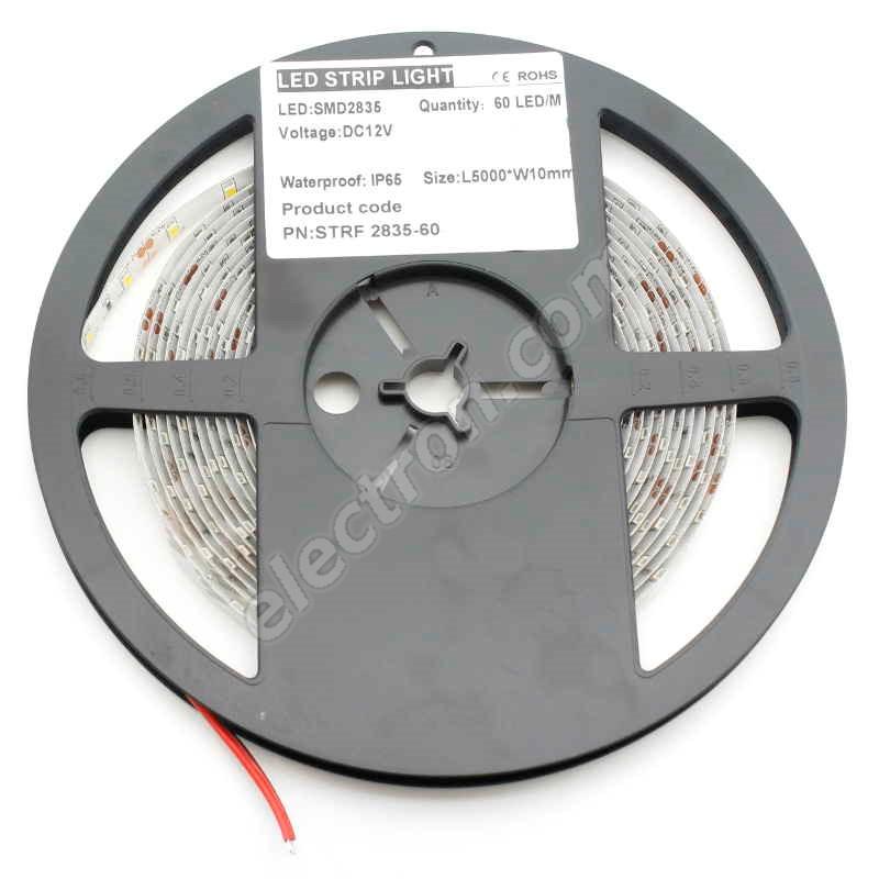 Waterproof LED Strip 2835 Warm White - STRF 2835-120-WW-IP65 - 1 meter length