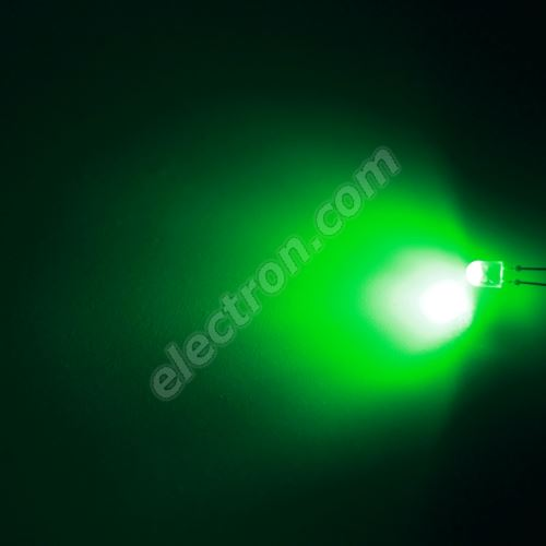 LED oval 5.2x3.8mm Green Color 3000mcd/(110/50°) Diffused Lens Hebei 7511PG2D-SB