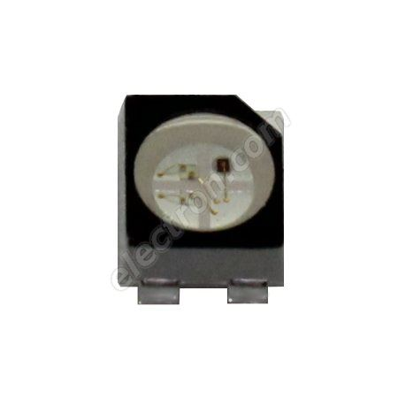 LED SMD PLCC4 RGB 1000mcd/130° Common Anode Hebei PLCC4RGBCT-CA