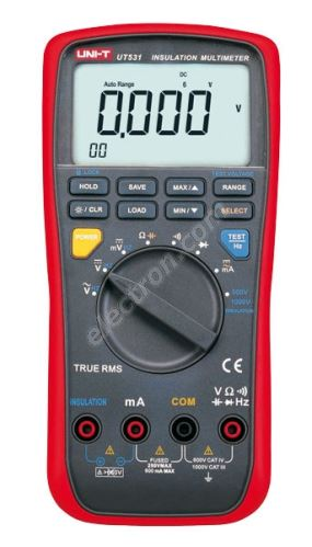 Digital 2 in 1 Insulation imeter UNI-T UT531