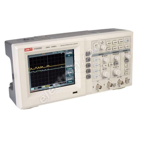 Digital Bench Oscilloscope 25MHz UNI-T UTD2025C