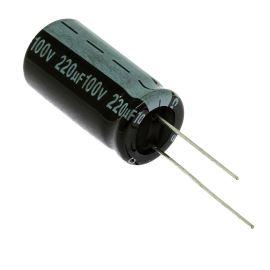 Electrolytic Radial E 220uF/100V 13x26 RM5 85°C Jamicon SKR221M2AJ26M