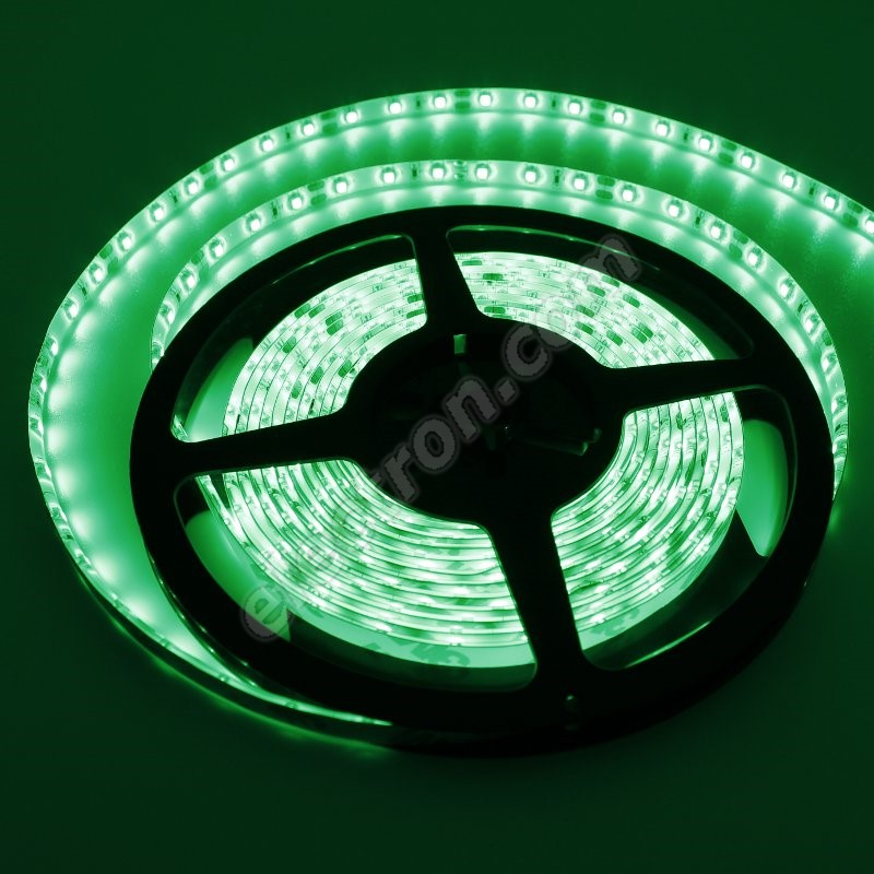 Waterproof LED Strip 3528 Green - STRF 3528-60-G-IP65 - 1 meter length