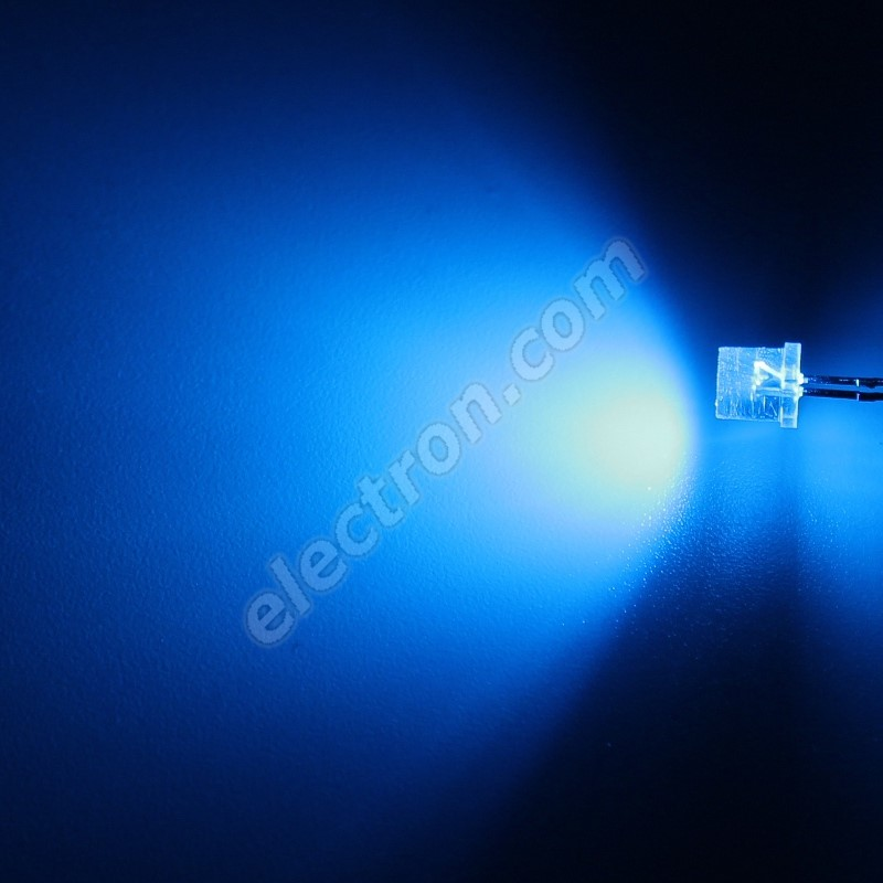 LED 5mm Blue Color 770mcd/100° Water Clear Lens Hebei 599LB7C