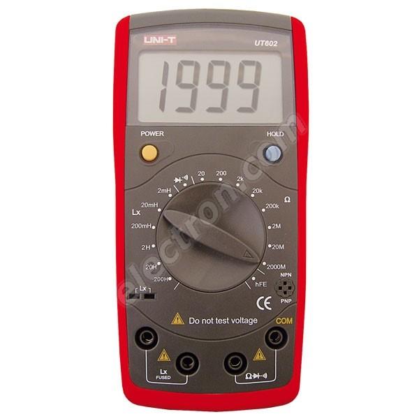 Digital multimeter (RL) UNI-T UT602