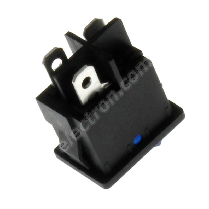 Rocker Switch Jietong MIRS-101-C3-D/BL/B (12VDC)