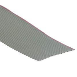 Flat ribbon cable AWG28 25 pin Grey Color