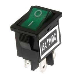 Rocker Switch Jietong MIRS-101-C3-D/G/B (12VDC)