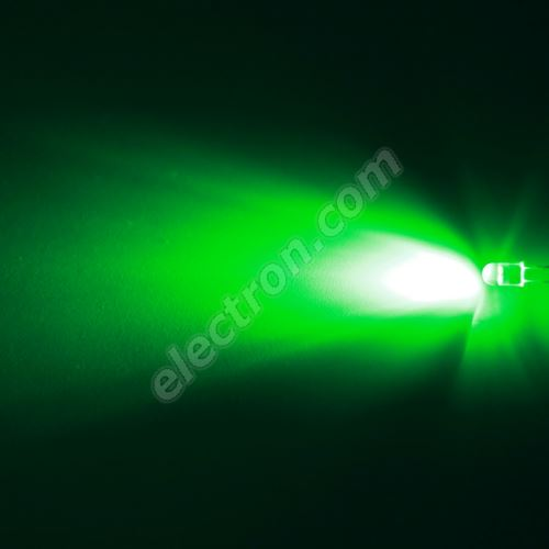 LED oval 5.6x4.6mm Green Color 12000mcd/(20/55°) Water Clear Lens Hebei 725PG2C