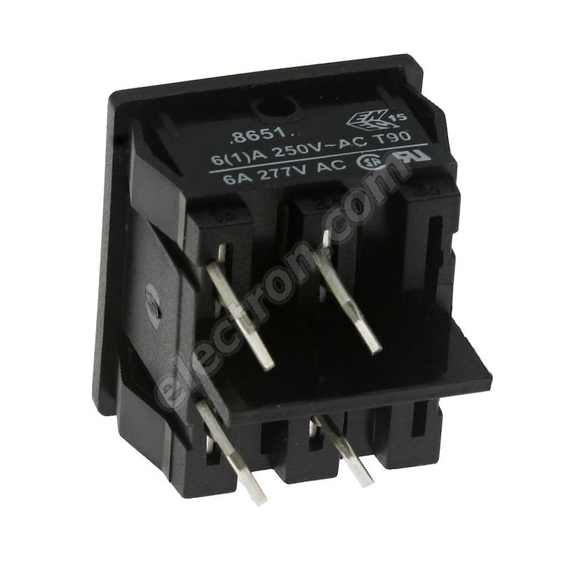 Rocker Switch Arcolectric H8651VBAAB