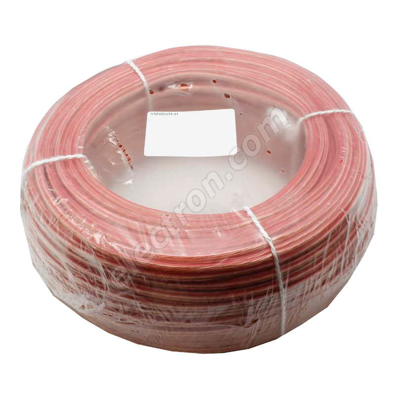 Unshielded Speaker Cable 2x1mm Transparent CYH (TLYp, SCY) 50V