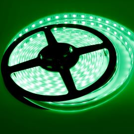 Waterproof LED Strip 5050 Green - STRF 5050-60-G-IP66