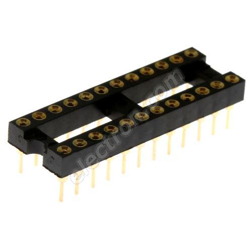 Precision IC DIP Socket Xinya 126-3-24RG