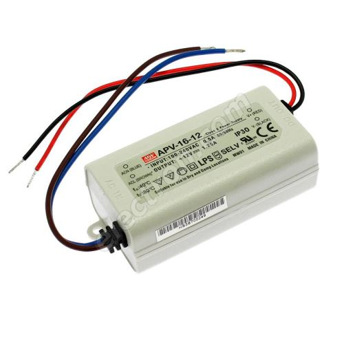 12V DC Power Supply Mean Well APV-16-12