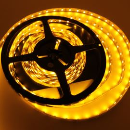 Non-Waterproof LED Strip 3528 Yellow - STRF 3528-60-Y - 1 meter length