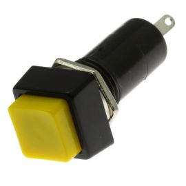 Pushbutton Switch Jietong PBS-12A YELLOW