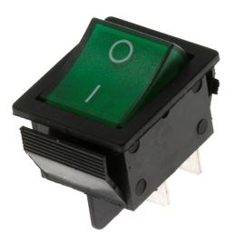 Rocker Switch Jietong IRS-201-1C3-G/B