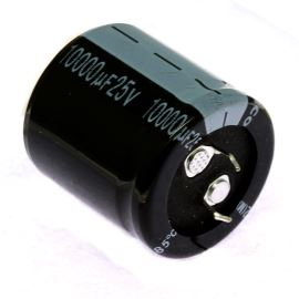 Electrolytic Capacitor Snap-in E 10000uF/25V 30x30 RM10 85°C Jamicon LPW103M1EP30M