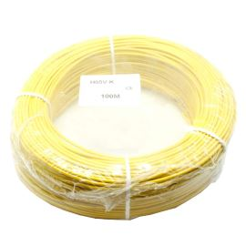 PVC Insulated Stranded Wire H07V-K 1x1.5mm Yellow